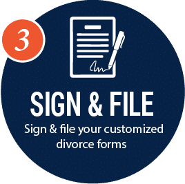 sile and file your Texas divorce forms